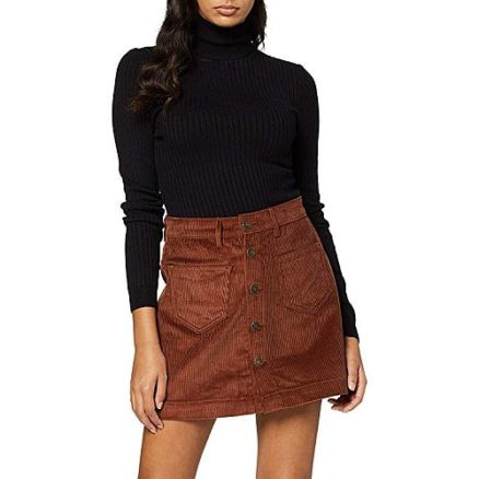 Corduroy mini rok